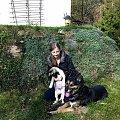ich dwóch, ona jedna :)) #las #lesna #Toto #wilczor #kundel