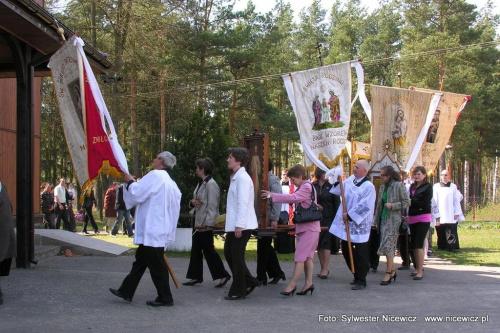 Foto Sylwester Nicewicz - Odpust w Kuziach #Kapliczka #Kościół #Kuzie #odpust #Kuziach #Wojciech #Wojciecha #gmina #Zbójna #woj #podlaskie