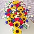 kwiaty z bibu�y lato