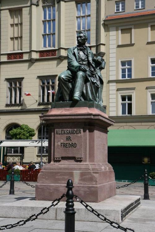 Wrocław - Pomnik Aleksandra Fredro #Pomniki