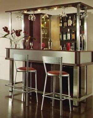 Kuchnia w stylu barowym wn trza for Modelos de barras de bar