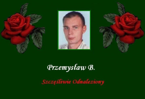 #Aktualności #Fiedziuszko #odnalezieni #OdnalezionySzczęśliwie #PrzemysławB #PomocnaDłoń #PortalNaszaKlasa #SprawaWyjaśniona