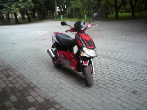 Kymco Super 9 Tuning. Kymco Super 9 LC by Mistrzu