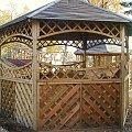 #altana #ogród #drewniana #altanka #pawilon