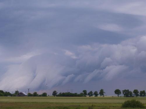 Cisza po burzy #chmury #burza #lato