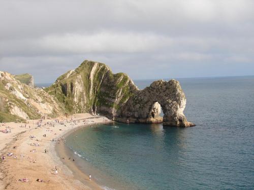 Durdle Door #Anglia #klif #DurdleDoor #Dorset #widok #morze #plaża