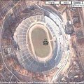 #StadionŚląskiWChorzowie #Stadion #Śląski #Chorzów #Google #Earth #map #mapa #stóp #skala #podziałka