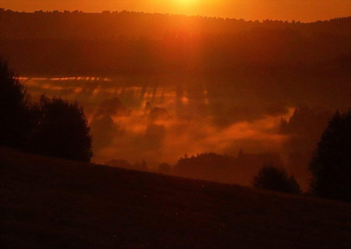 o poranku #Tatry #wschód #mgła