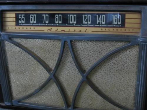 """Radio """" Admiral """" model 7RT41 Chicago 47, Illinois #radio #unikat #bialy #kruk #admiral #chicago #illinois #chassis #aparat #allegro #aukcja #okazja #traf"""