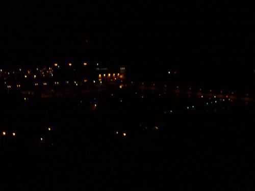 Gdynia nocą z Kamiennej