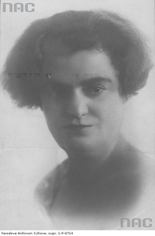 Janina Mirska, aktorka_1910-1939 r.