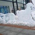 Lodowy pojazd #lód #koń #figura