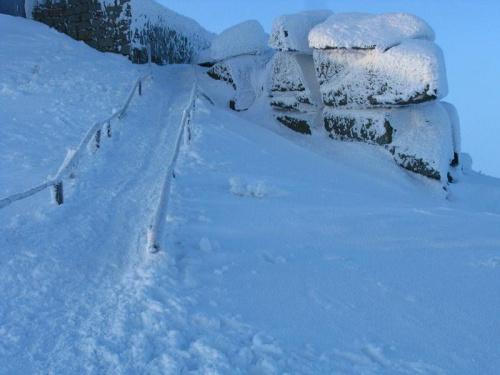 Szrenica #Karkonosze #góry #zima #śnieg #Szrenica