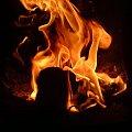 #ogień