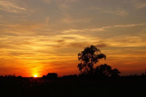 #widok #pejzaż #ZachódSłońca