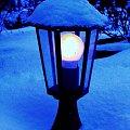 latarenka #latarnia #ogród #światło #zima