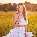 Łąka o zachodzie z Eweliną #kobieta #dziewczyna #portret #nikon #passiv #airking #D700 #nikkor