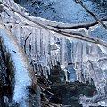 Nacieki lodowe. #lód #nacieki #sople #zima