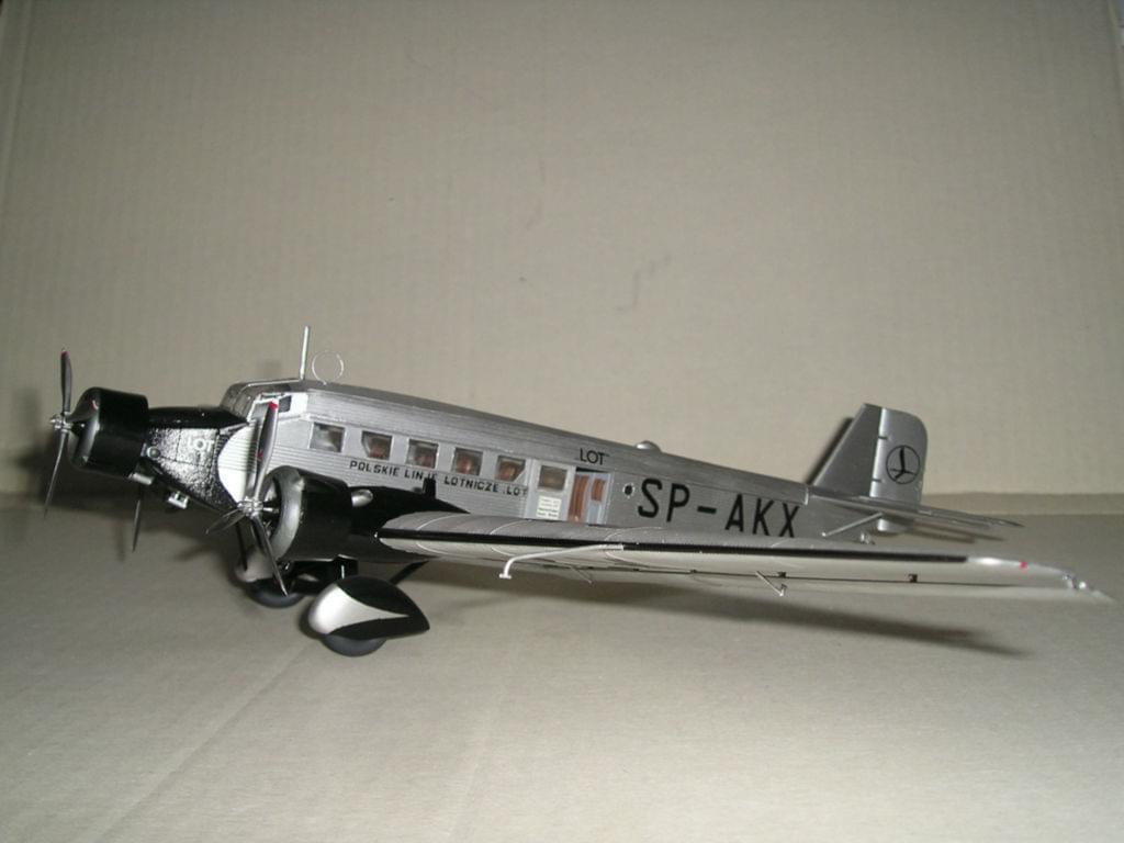 """Junkers Ju-52 PLL """"LOT"""" - Italeri 1/72 B9ad36b69e710837"""