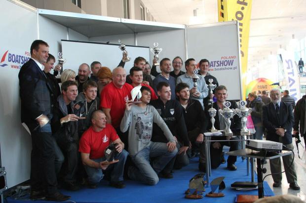 Wręczenie nagród Pucharu Polski w klasie OMEGA za 2012r.