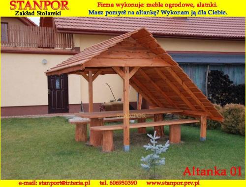Wykonuję altanki według własnych projektów jak i projektu klienta. www.stanpor.prv.pl #altanka #altany #altanki #ZakładStolarski #stanpor